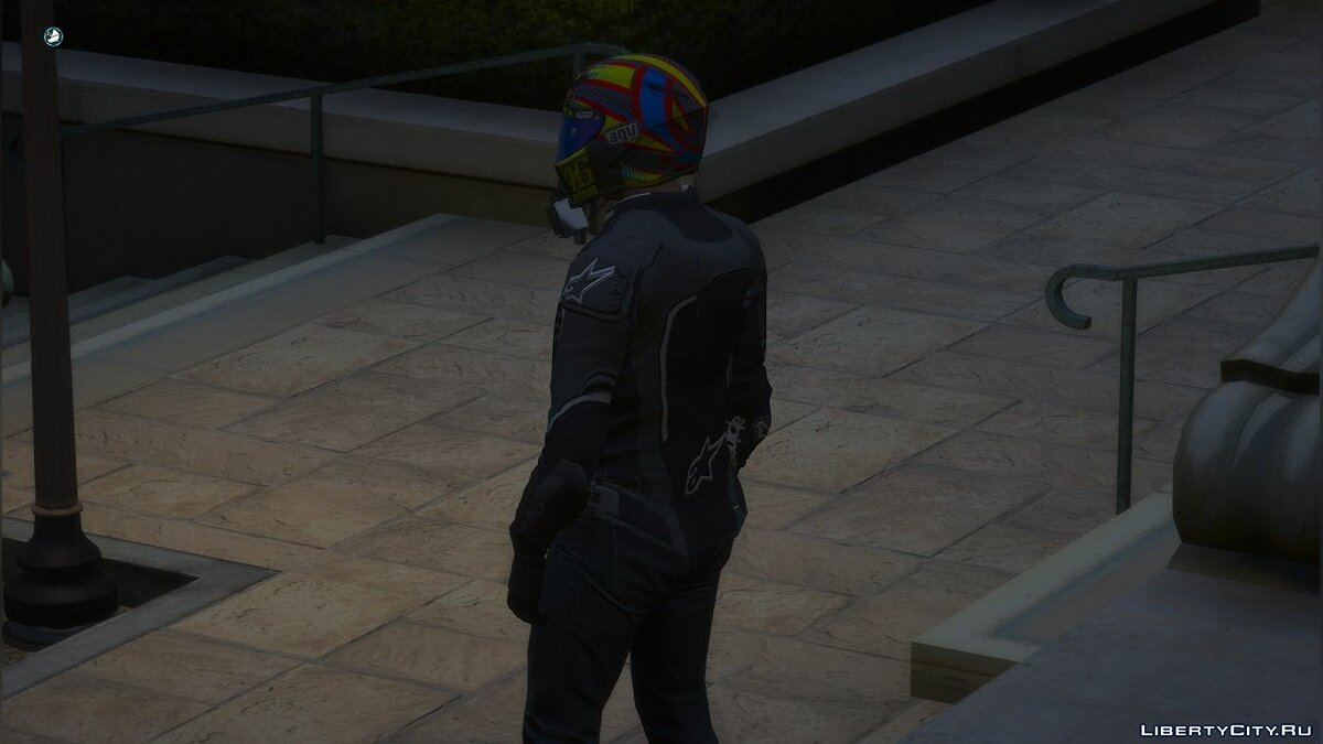 Jackets or suits ALPINESTARS jacket for GTA 5