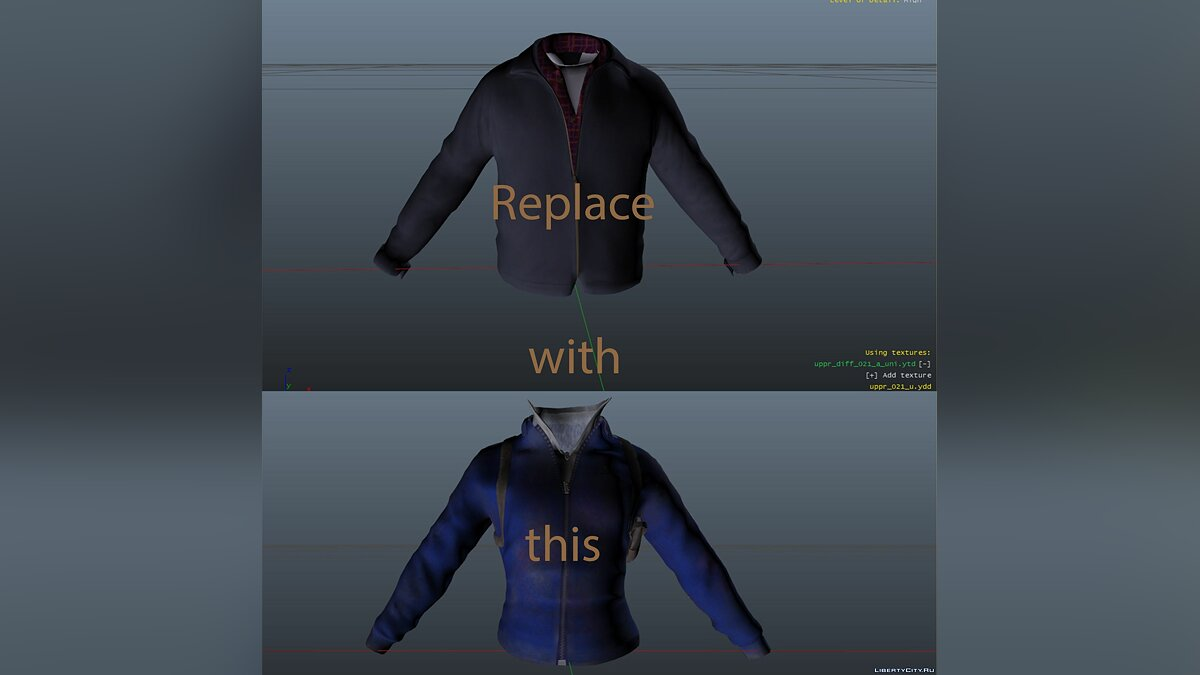 Jackets or suits Training Jacket for Trevor for GTA 5