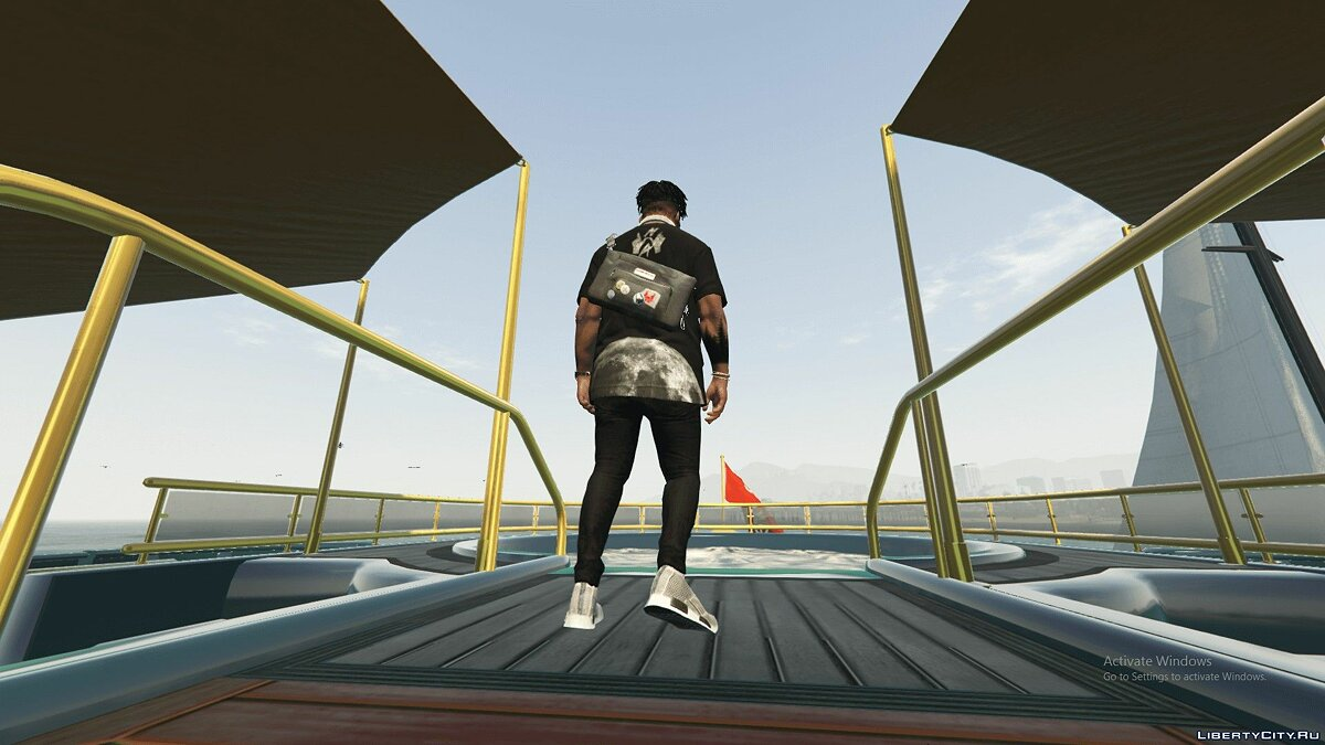 Jackets or suits Watch Dog 2 MESSENGER BAG (CUSTOM) 1.0 for GTA 5