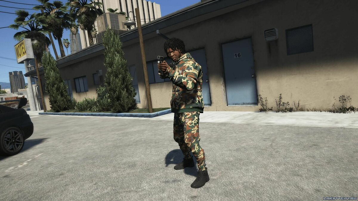 Jackets or suits Nike Camo Suit for GTA 5