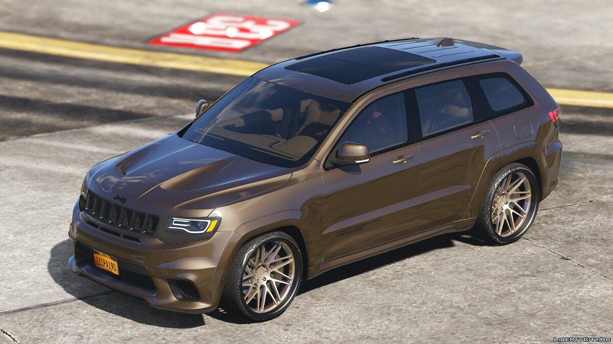 Jeep car TrackHawk Jeep Grand Cherokee SRT8 (replace rocoto) 0.1 for GTA 5