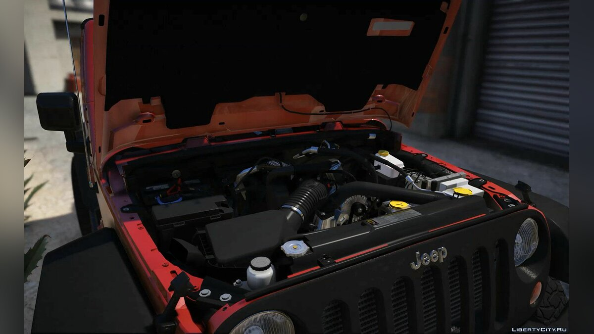 Jeep car 2012 Jeep Wrangler [Add-On / Tuning] 1.1 for GTA 5
