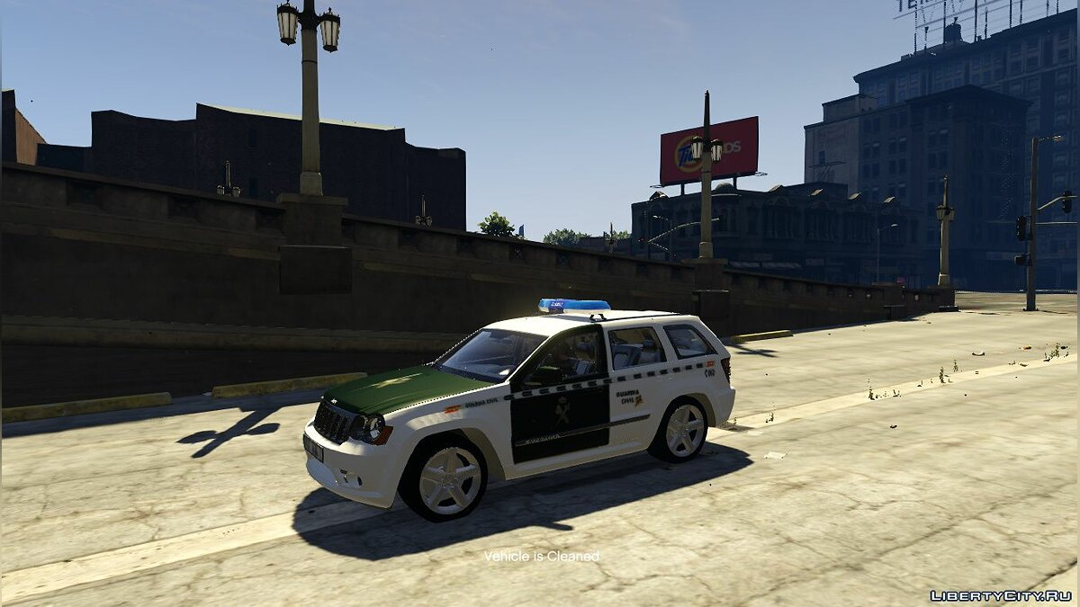 Jeep car Jeep Cherokee STR 8 G.C 2009 for GTA 5