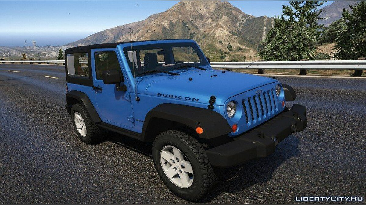 2012 jeep wrangler [Add-On] 1.0 for GTA 5