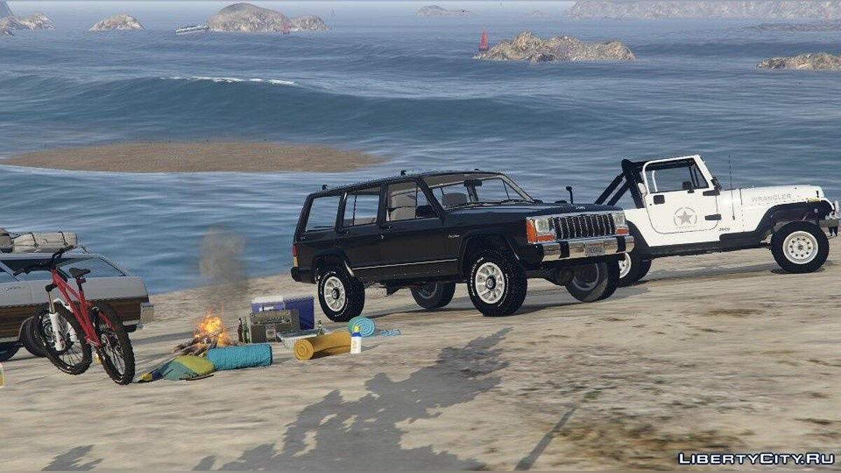 Jeep car Jeep Cherokee XJ (Replace) 1.2 for GTA 5