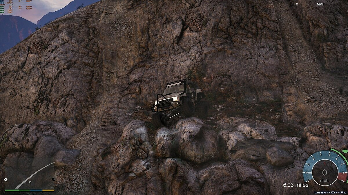 Jeep car 1984 Jeep XJ Crawler 1.1 for GTA 5