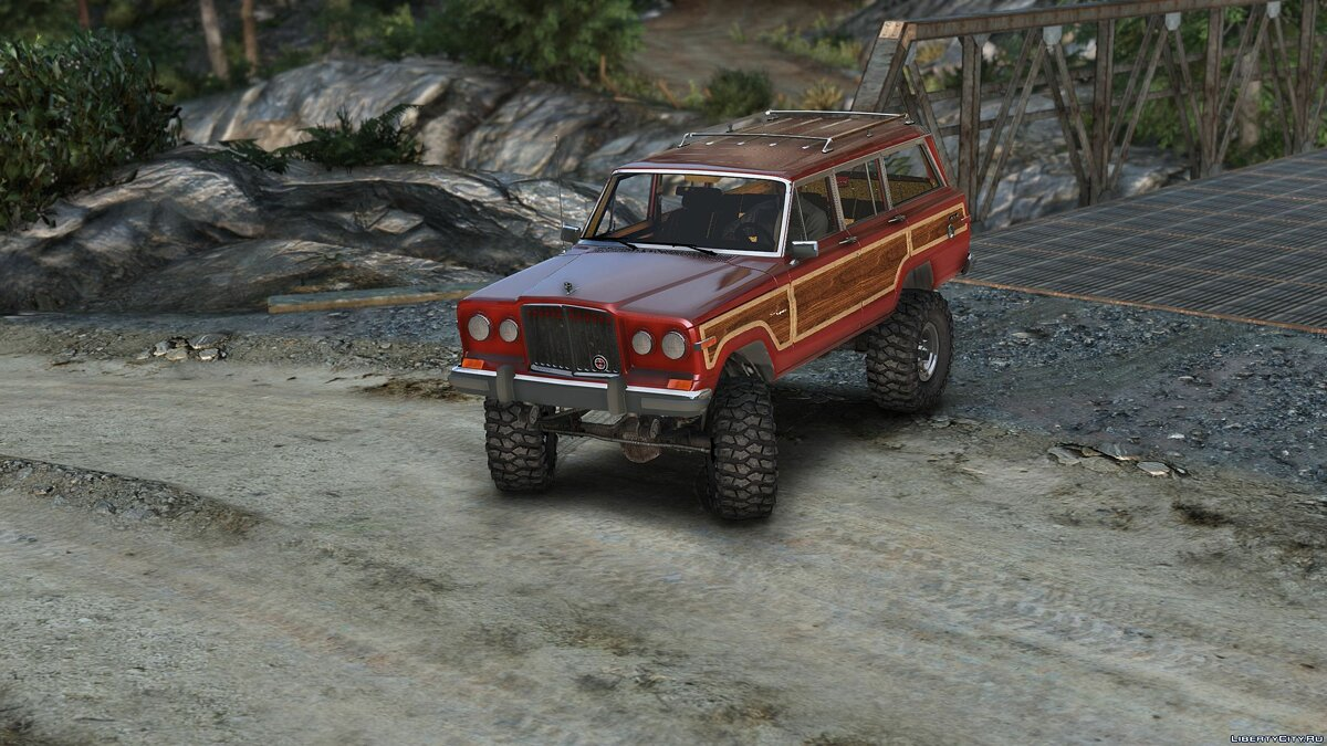 Jeep car 1990 Jeep Grand Wagoneer [Add-On] 1.0 for GTA 5