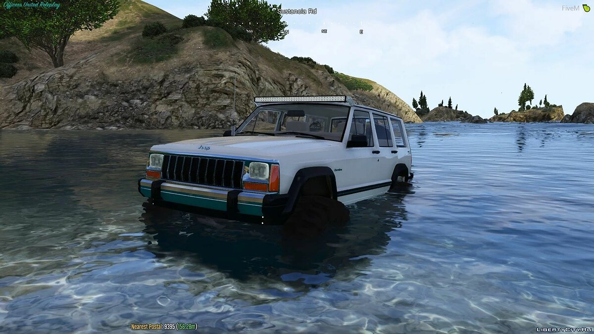 Jeep car 1992 Jeep Cherokee [Add-On] 1.2 for GTA 5