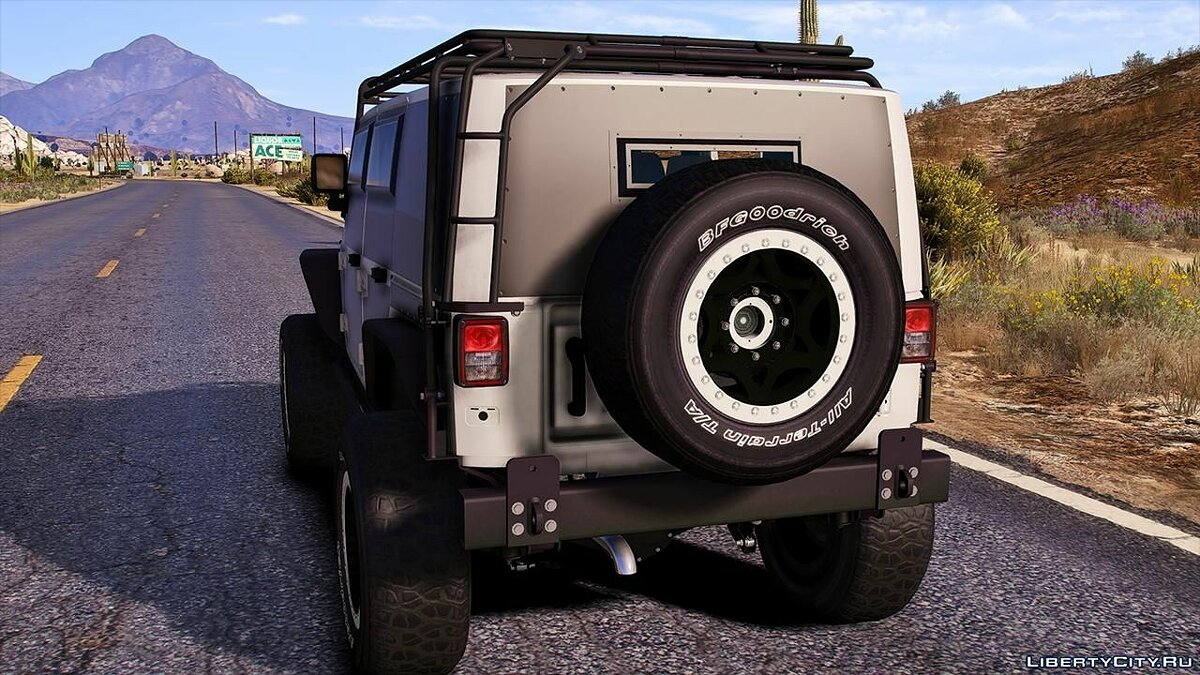 Jeep car 2013 Jeep Wrangler Unlimited F&F Edition [Replace | Unlocked | LODS | Template] 1.0 for GTA 5