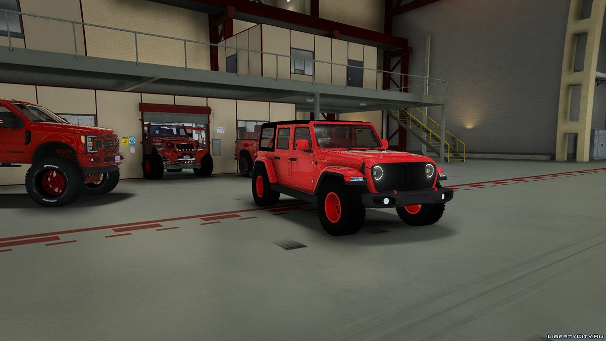 Jeep car 2018 Jeep rubicon (ADDON) 1.0 for GTA 5