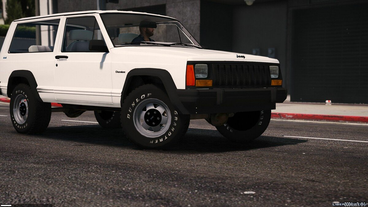 Jeep car Jeep Cherokee XJ 1996 [Add-On   Replace   Livery   Extras   Dirt   Template] 1.2 for GTA 5