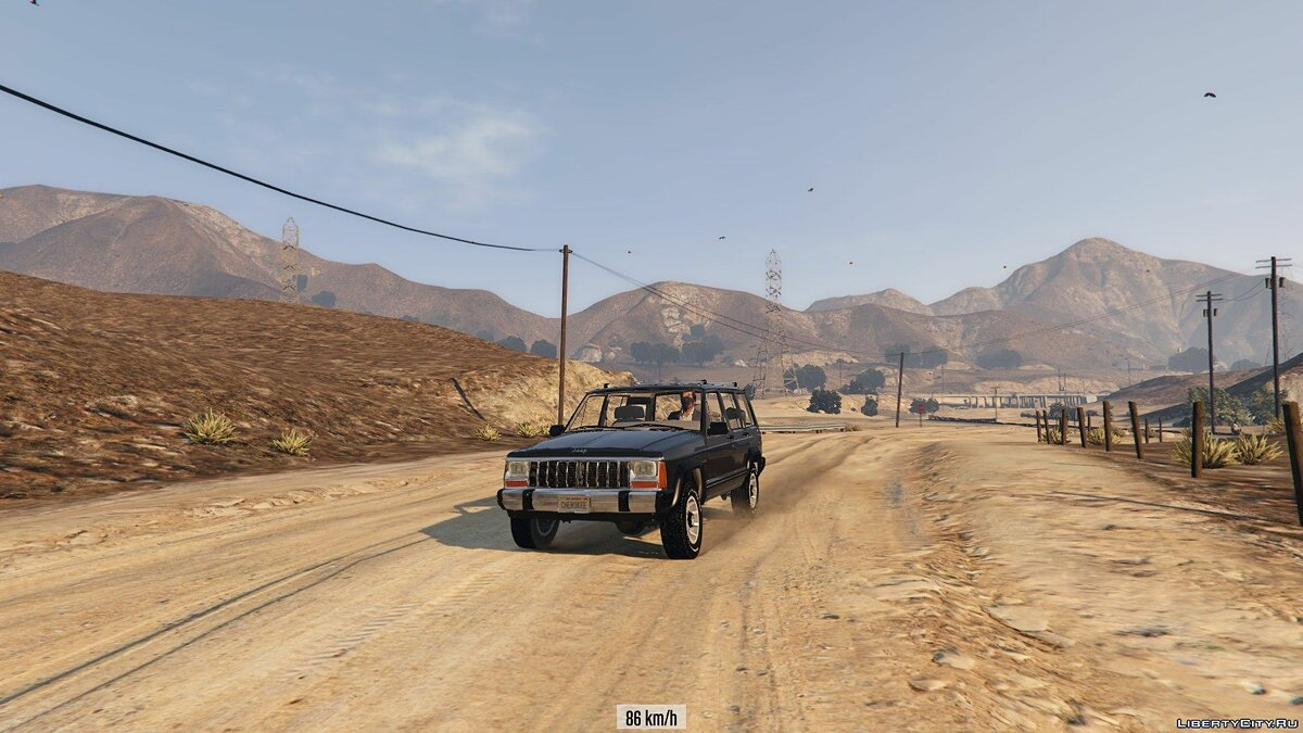 Jeep car Jeep Cherokee XJ 1.1 for GTA 5