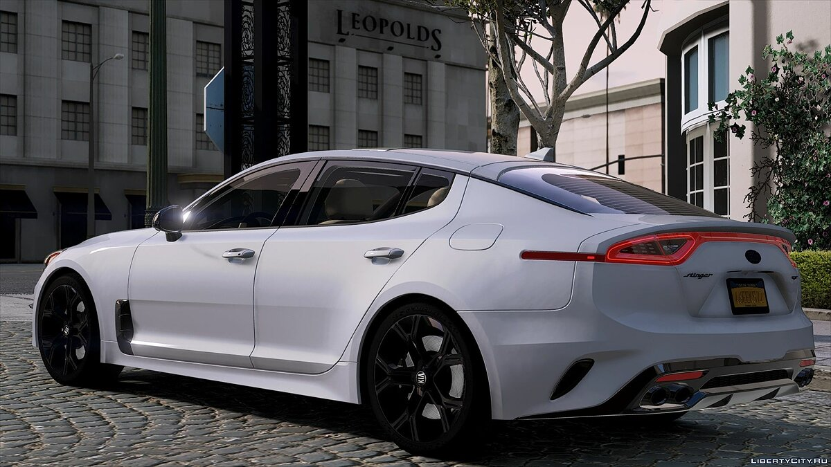 Kia car Kia Stinger GT 2018 1.0 for GTA 5