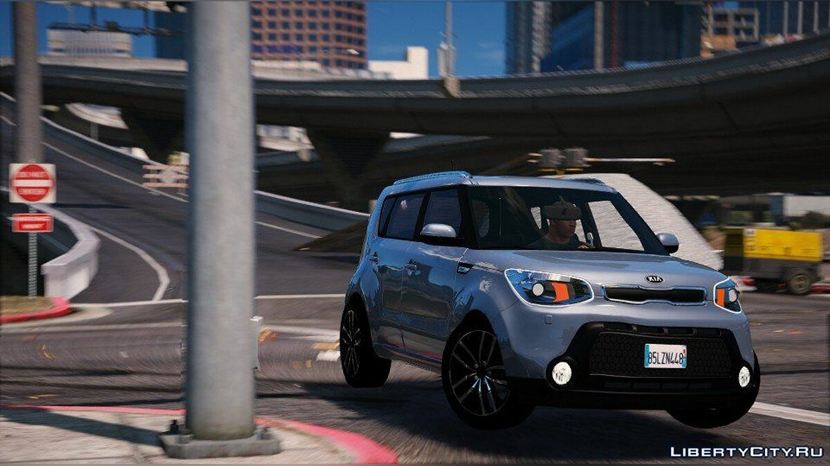 Kia car Kia Soul [Add-on] 1.1 for GTA 5