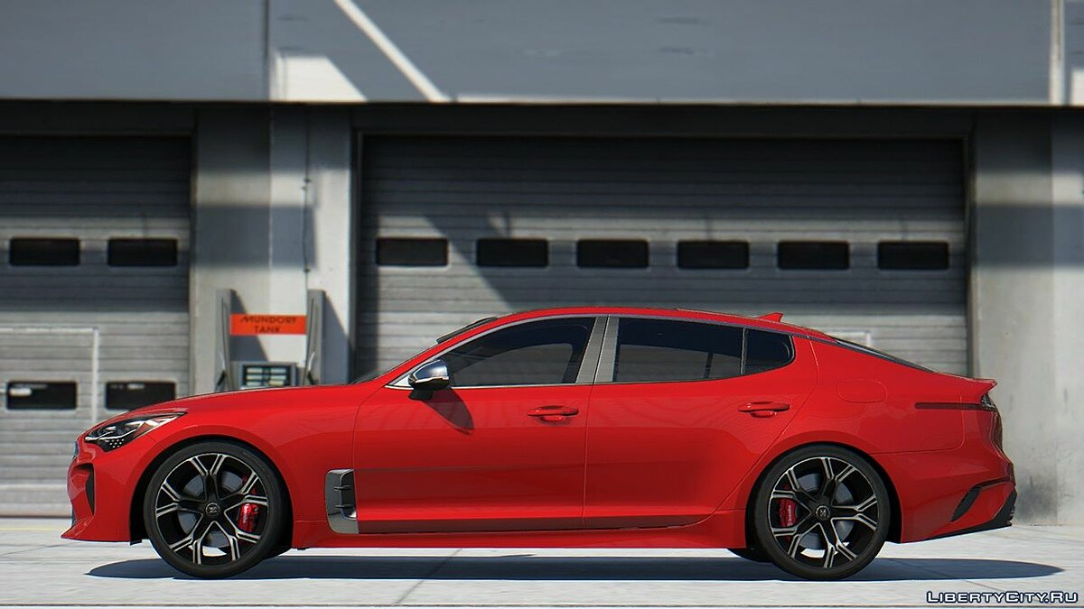 Kia car KIA Stinger 3.3 GT 2017 [Add-On | Tuning | Template] 2.0 for GTA 5
