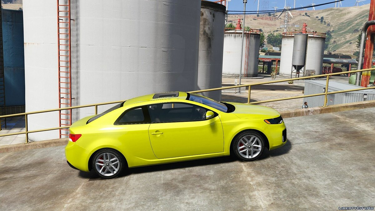 Kia car Kia Forte Koup [Add-On | Tuning] 1.0 for GTA 5