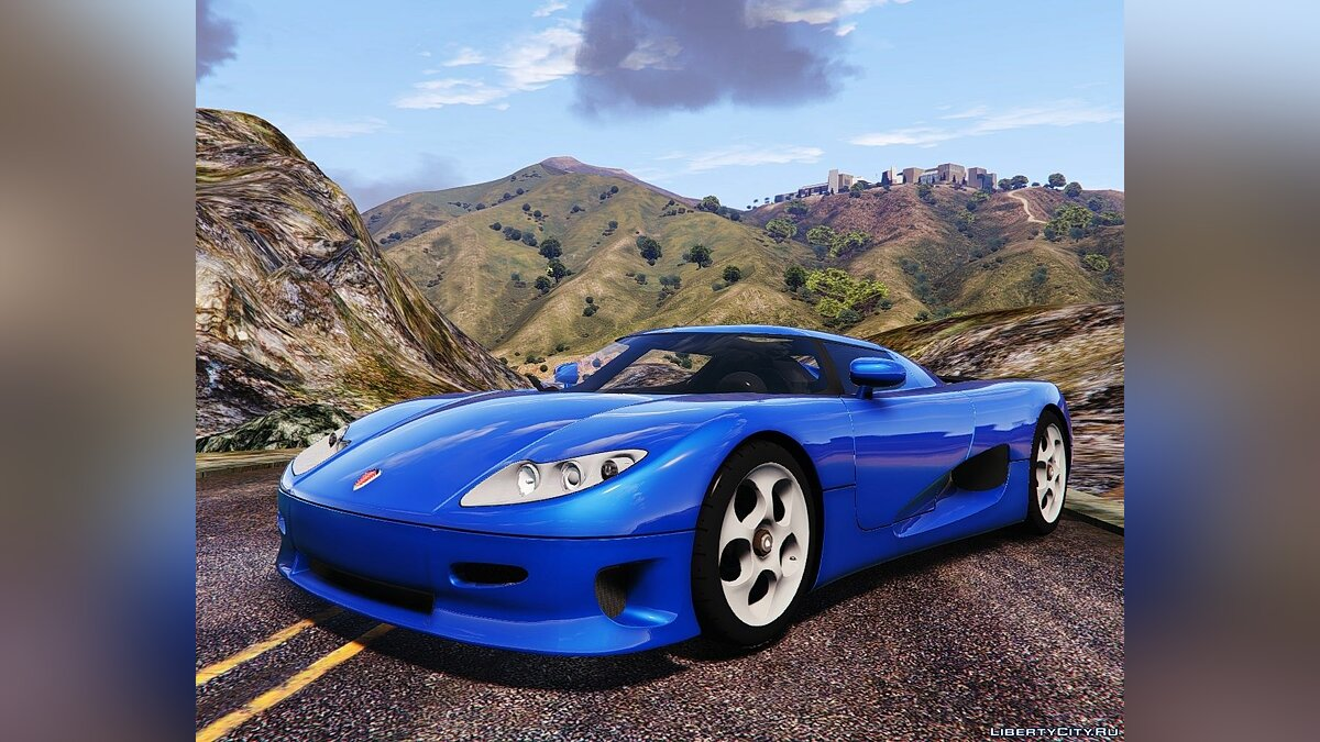 Koenigsegg car Koenigsegg CC8S 2002 for GTA 5
