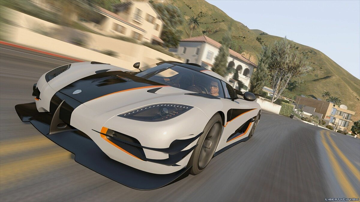 Koenigsegg car 2015 Koenigsegg Agera One: 1 [HQ | TripleDials | Spyder | Animated Engine] 2.0 for GTA 5