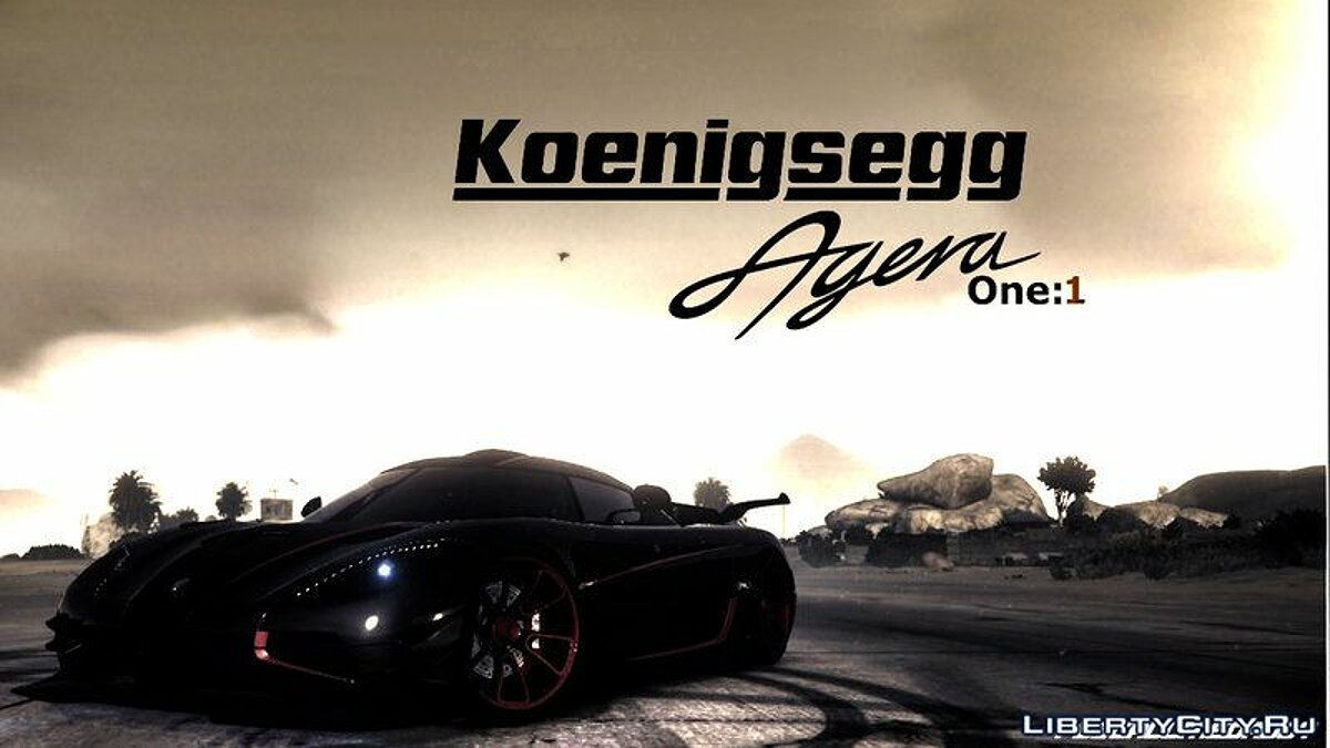 Koenigsegg car Koenigsegg Agera One [Add-On] for GTA 5