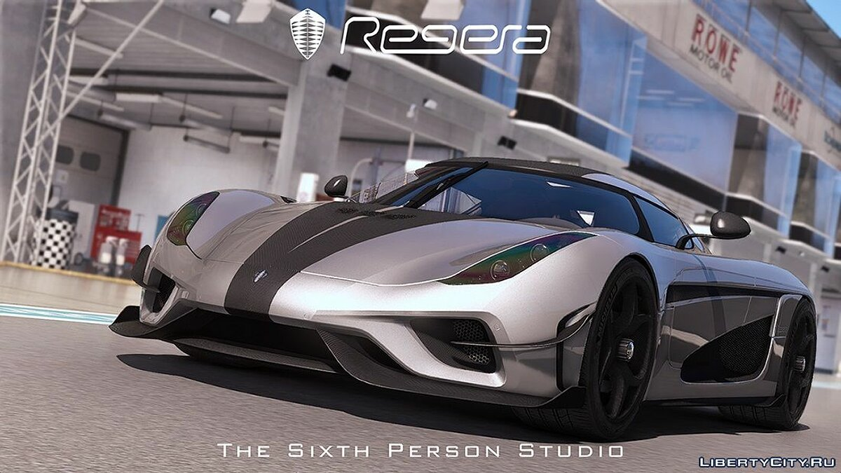 Koenigsegg car Koenigsegg Regera 2016 Official Special Edition [Automatic Spoiler | Add-on | Tuning] 1.1 for GTA 5