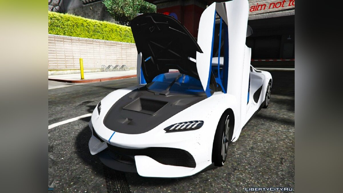 Koenigsegg car Koenigsegg Gemera [Add-On / FiveM] 1.0 for GTA 5