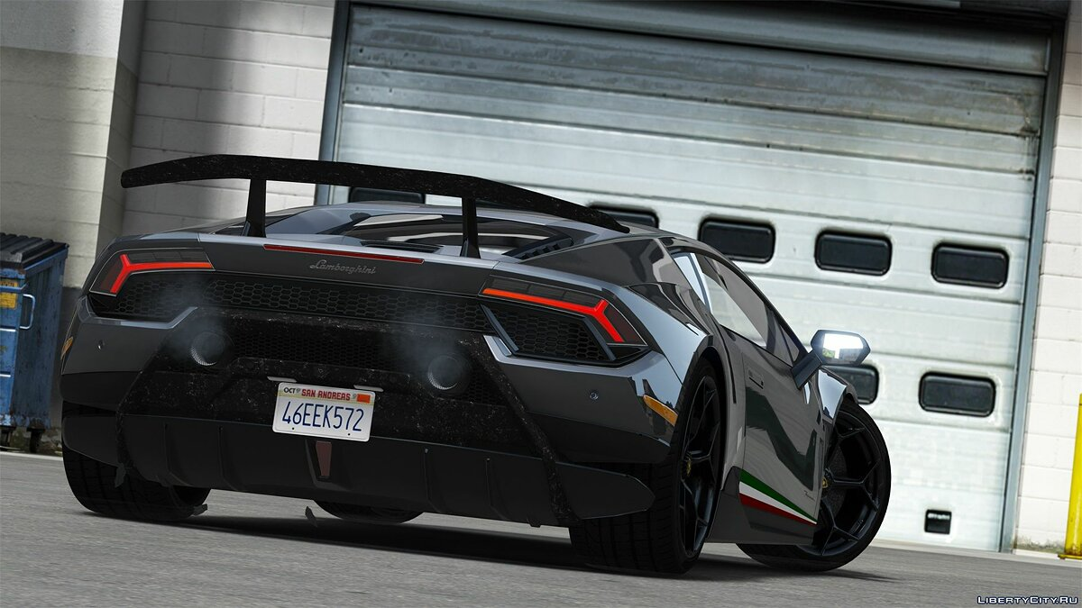 Lamborghini car 2018 Lamborghini Huracan Performante [Add-On / Replace] v1.1 for GTA 5