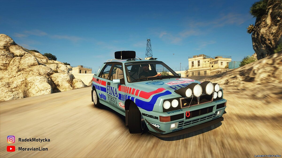 Lancia car Lancia Delta HF integrale EVO I '92 [LODs | Template | Tuning | Add-On] 1.0 for GTA 5