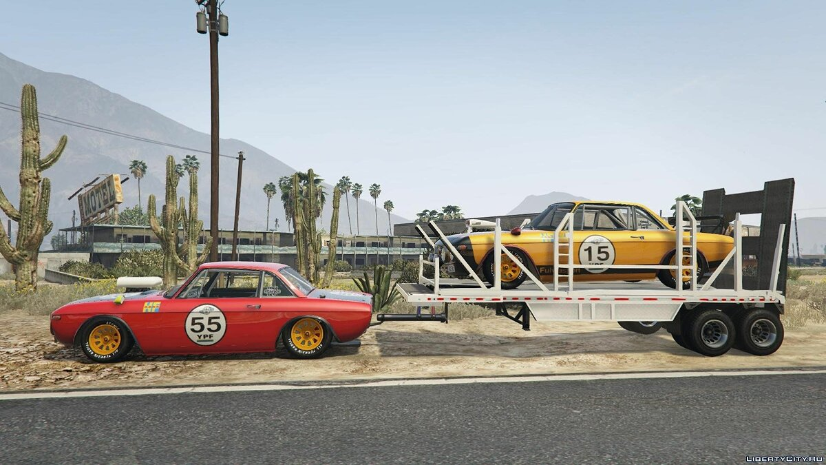 Lancia car Lancia Fulvia HF Transport [Add-On / Replace] for GTA 5
