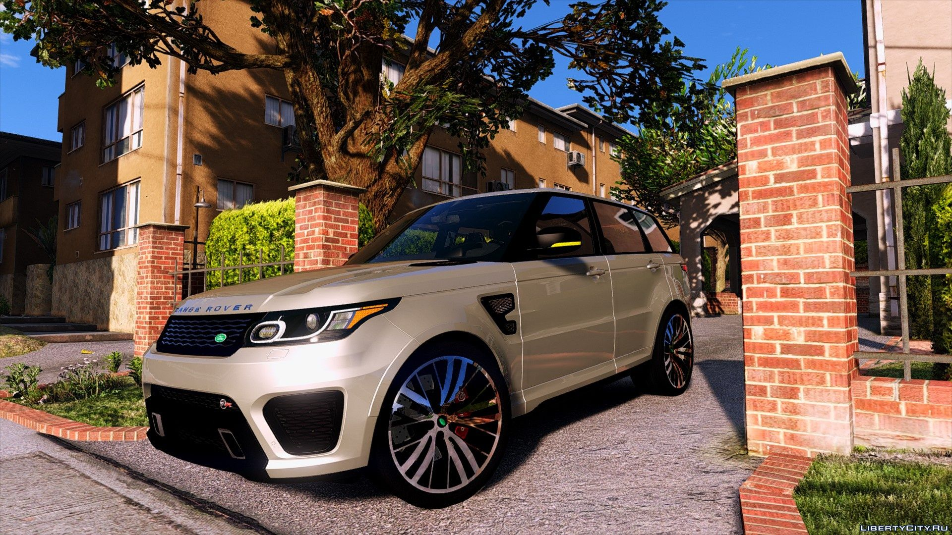 Range Rover Sport SVR 2016 [Add-On] for GTA 5