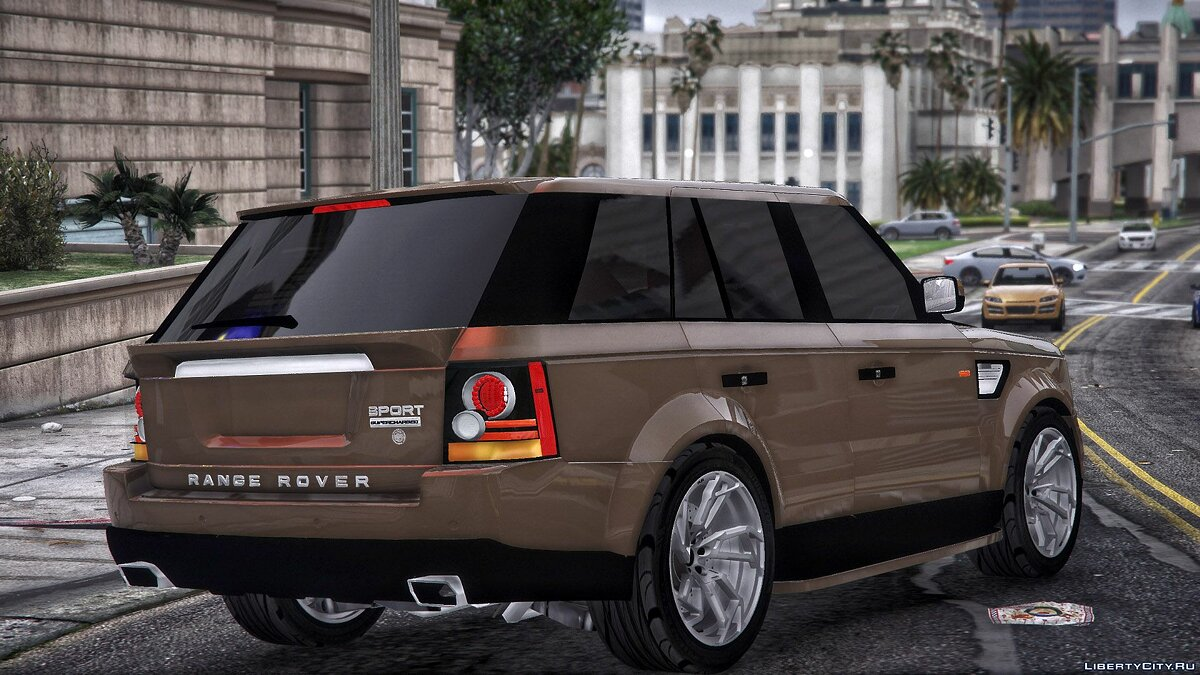 Land Rover car Range rover for GTA 5