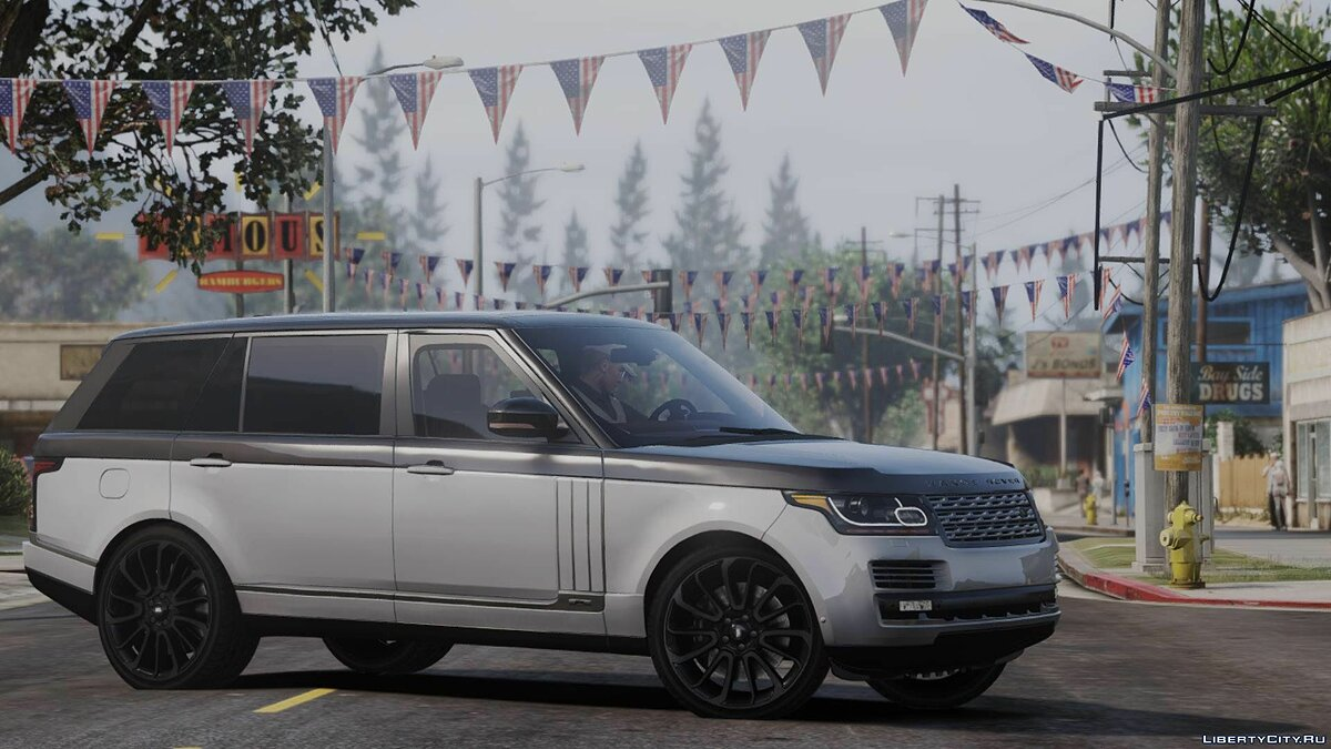 Land Rover car 2014 Range Rover Vogue SC 3.0 V6 [Add-on / Replace] for GTA 5