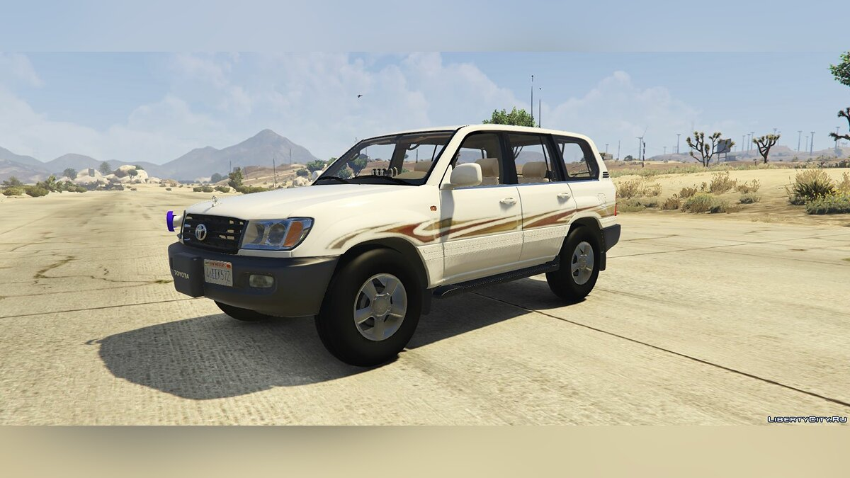 Land Rover car Toyota Land Cruiser 2007 [Replace] 1.7 for GTA 5