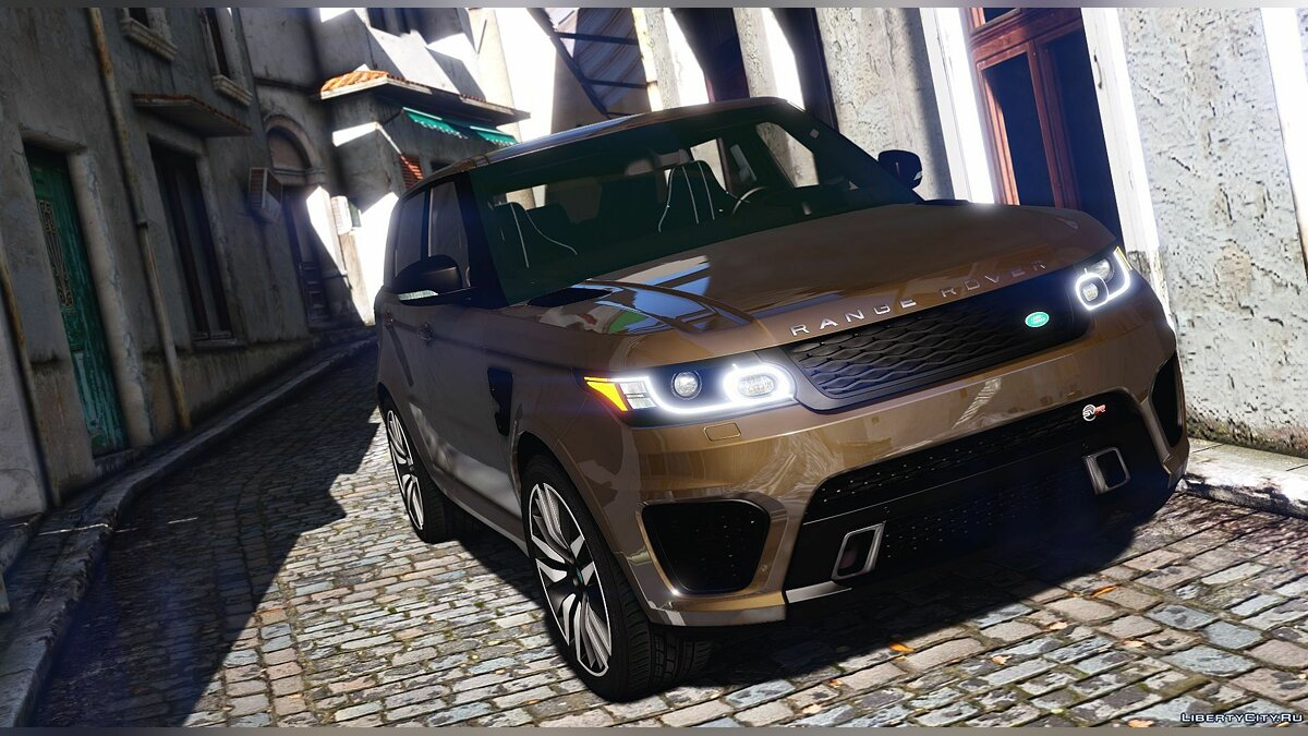 Land Rover car Range Rover Sport SVR 2016 [Animated / Templated / Add-On] 3.1 for GTA 5