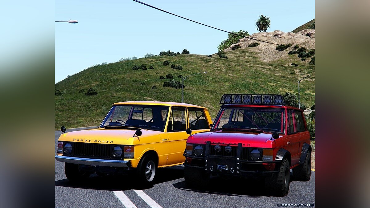 Land Rover car Land Rover Range Rover 1973 [Add-On | Dirtmap | Extras] 1.0 for GTA 5