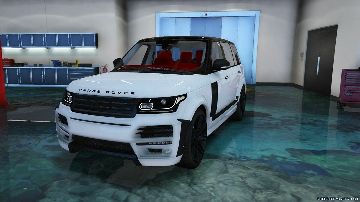 Land Rover car Range Rover Vogue StarTech 2019 (Add-On) for GTA 5