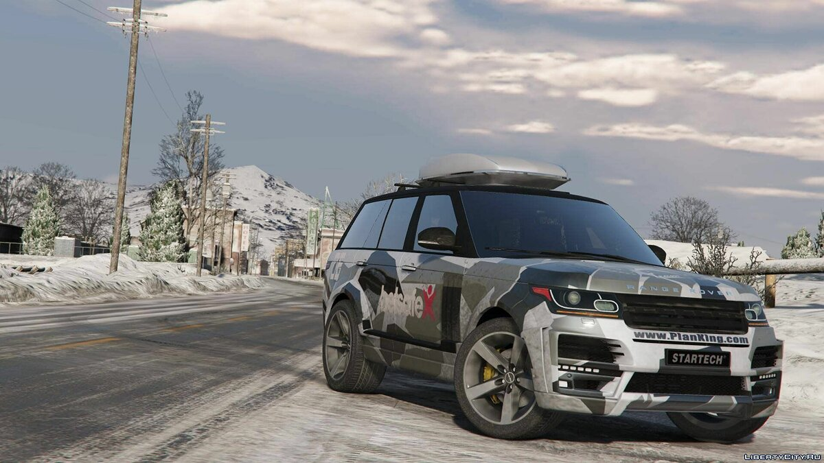 Land Rover car Range Rover Vogue StarTech L405 [Templated / Digital / Annimated / AddOn] 1.1 for GTA 5