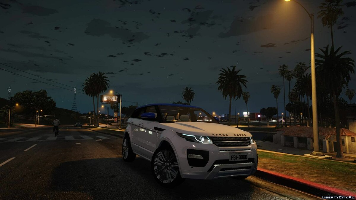 Land Rover car Range Rover Evoque (Envocada) do Canal Victor Rajesh 1.0 for GTA 5