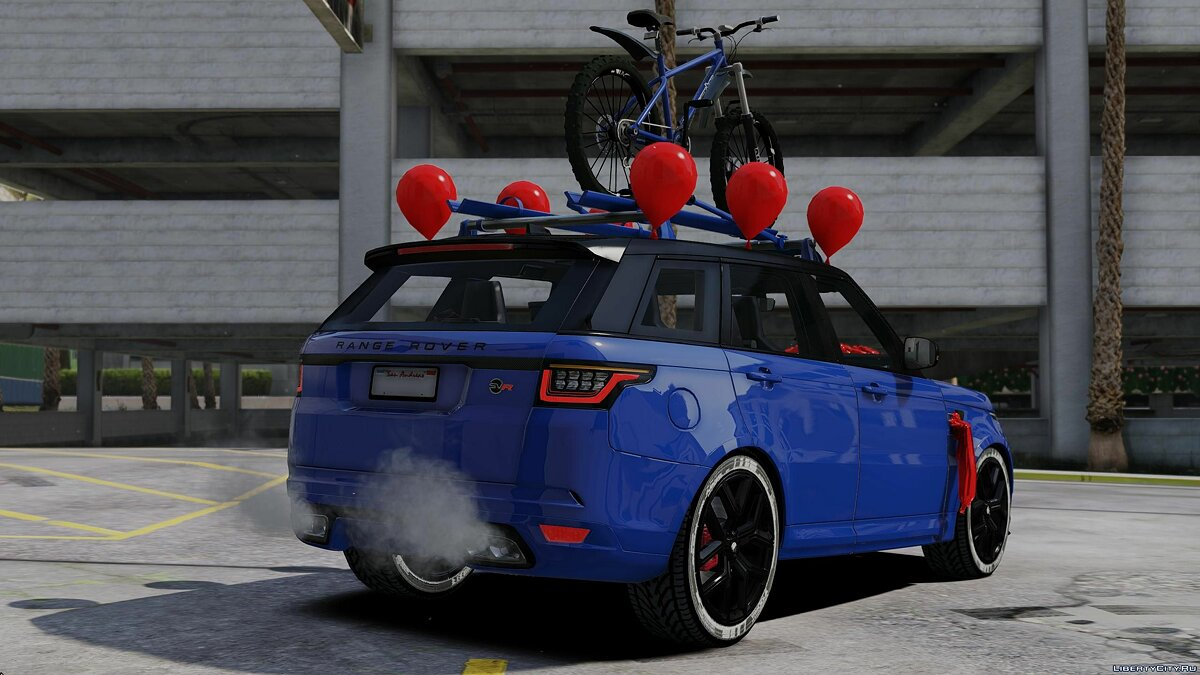 Land Rover car Range Rover Sport SVR 2.0 2018 for GTA 5