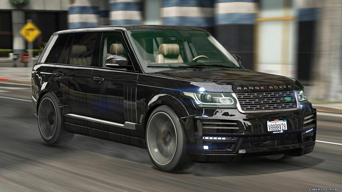 Land Rover car Range Rover Vogue Startech [ADD-ON / Tuning] 1.0 for GTA 5