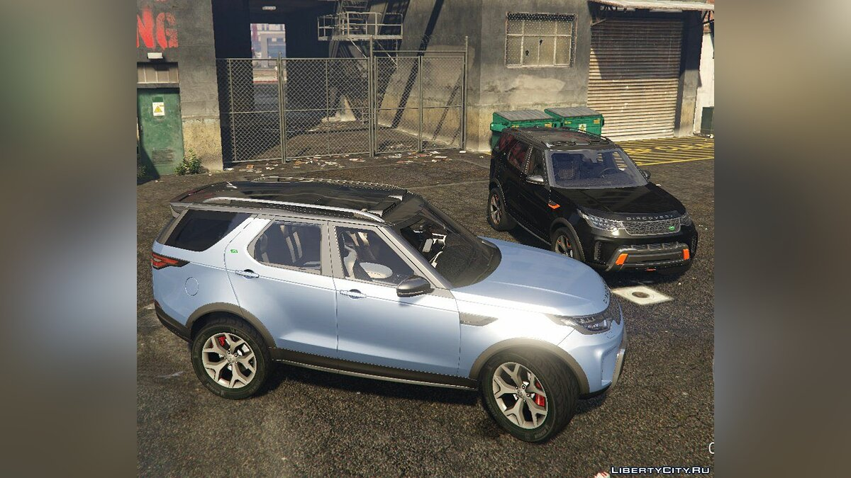 Land Rover car Land Rover Discovery V SVX 2018 [HQ / Add-on] for GTA 5