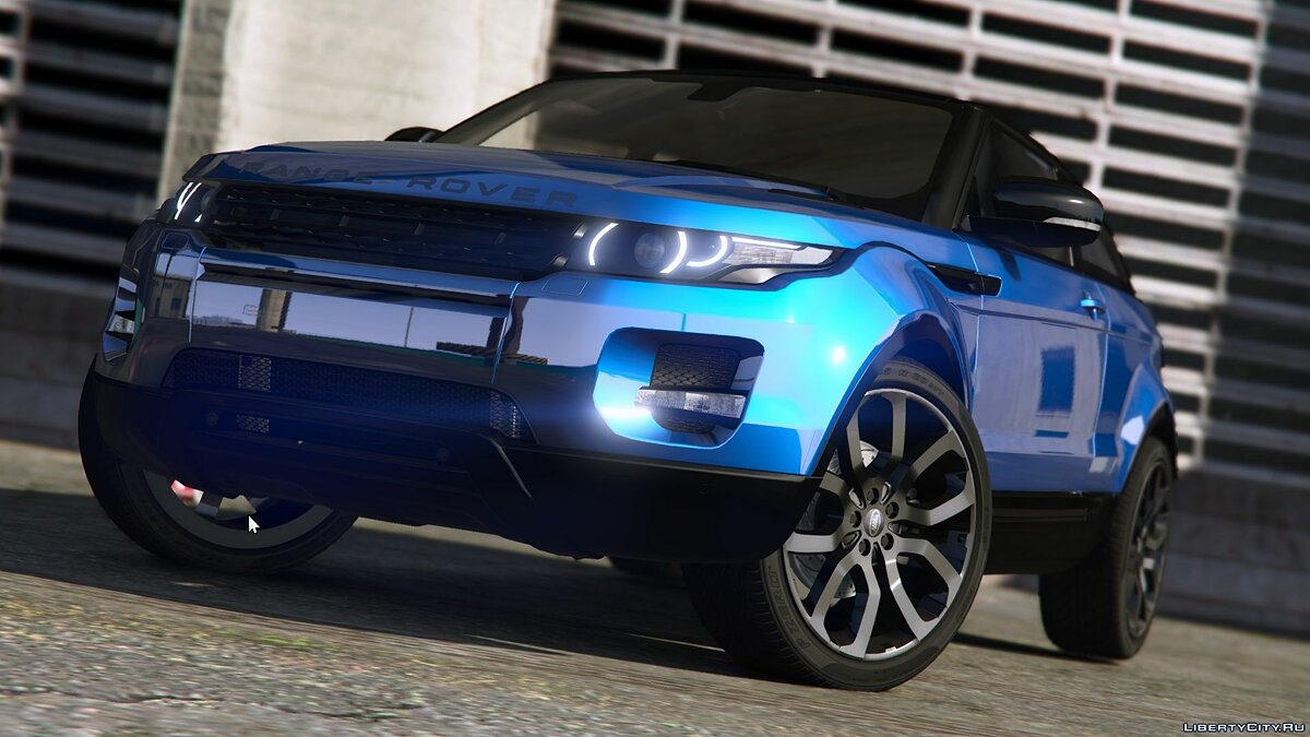 Land Rover car Range Rover Evoque [Add-On / Replace | Tuning | Template] 8.0 for GTA 5