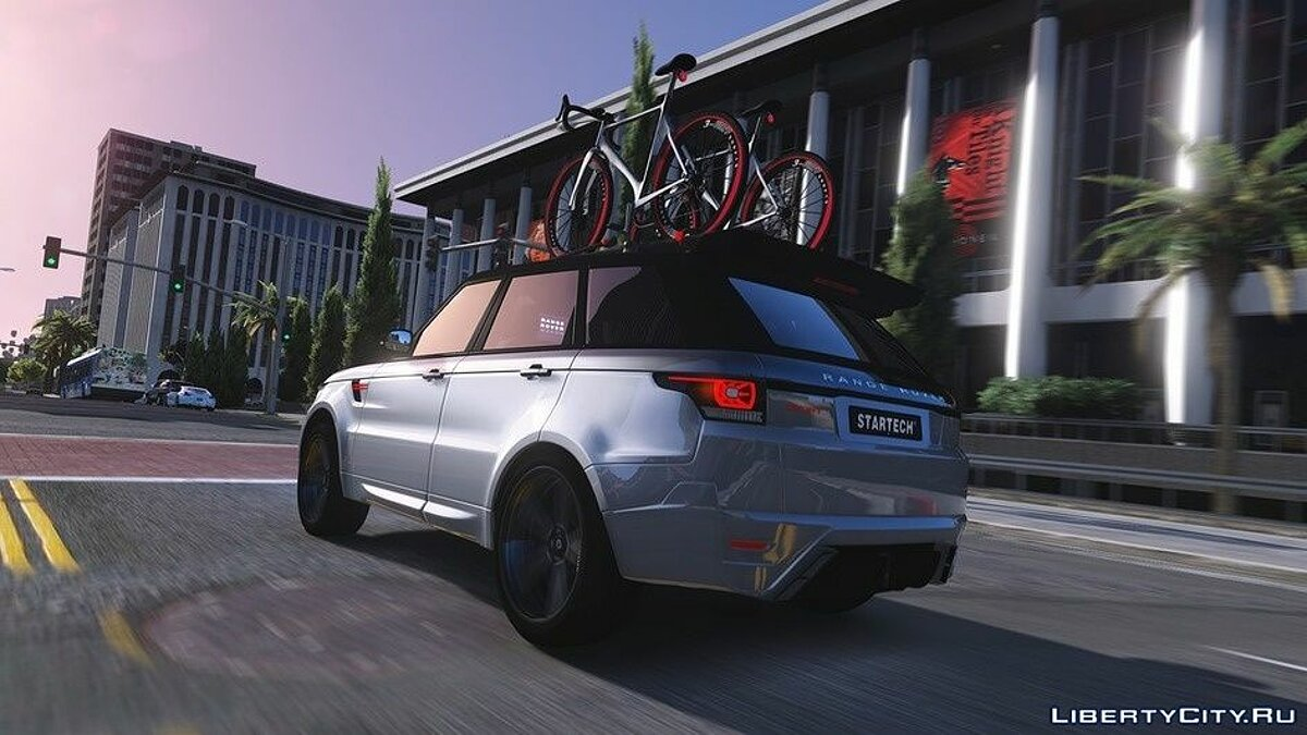 Land Rover car Range Rover Sport StarTech 2016 [Add-On / Animated / Templated] 1.2 for GTA 5