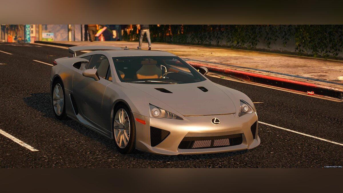 Lexus car Lexus LFA 2010 [Add-On | LODs | Template] 1.0 for GTA 5