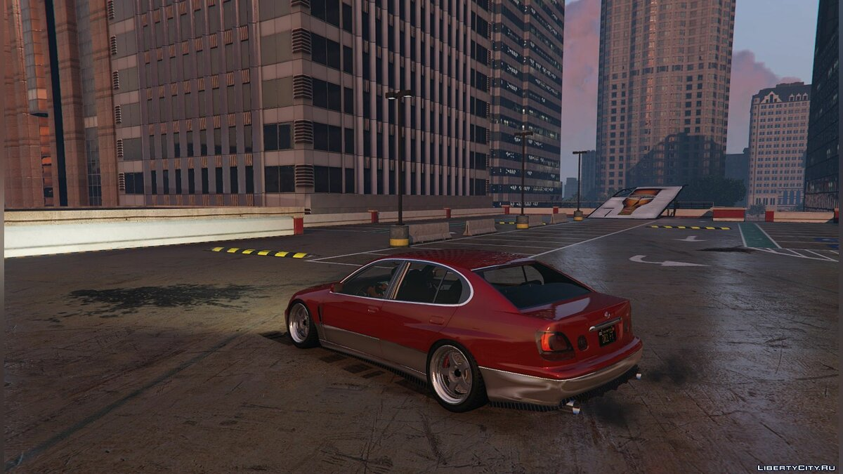Lexus car Lexus GS300/Aristo JZS160/JZS161 for GTA 5