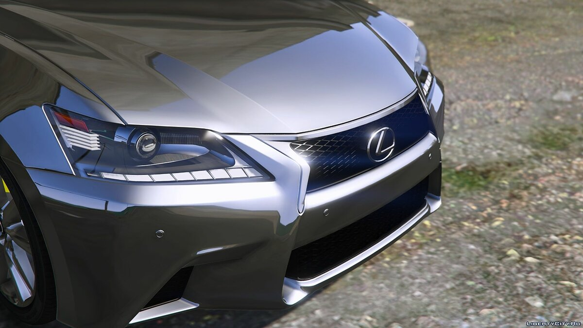 Lexus car Lexus GS 350 [Add-On / Replace | Tuning | Template] 3.0 for GTA 5