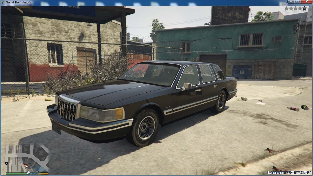 Can You Rent A Car With Cash >> 1991 Lincoln Town Car V1.0 for GTA 5