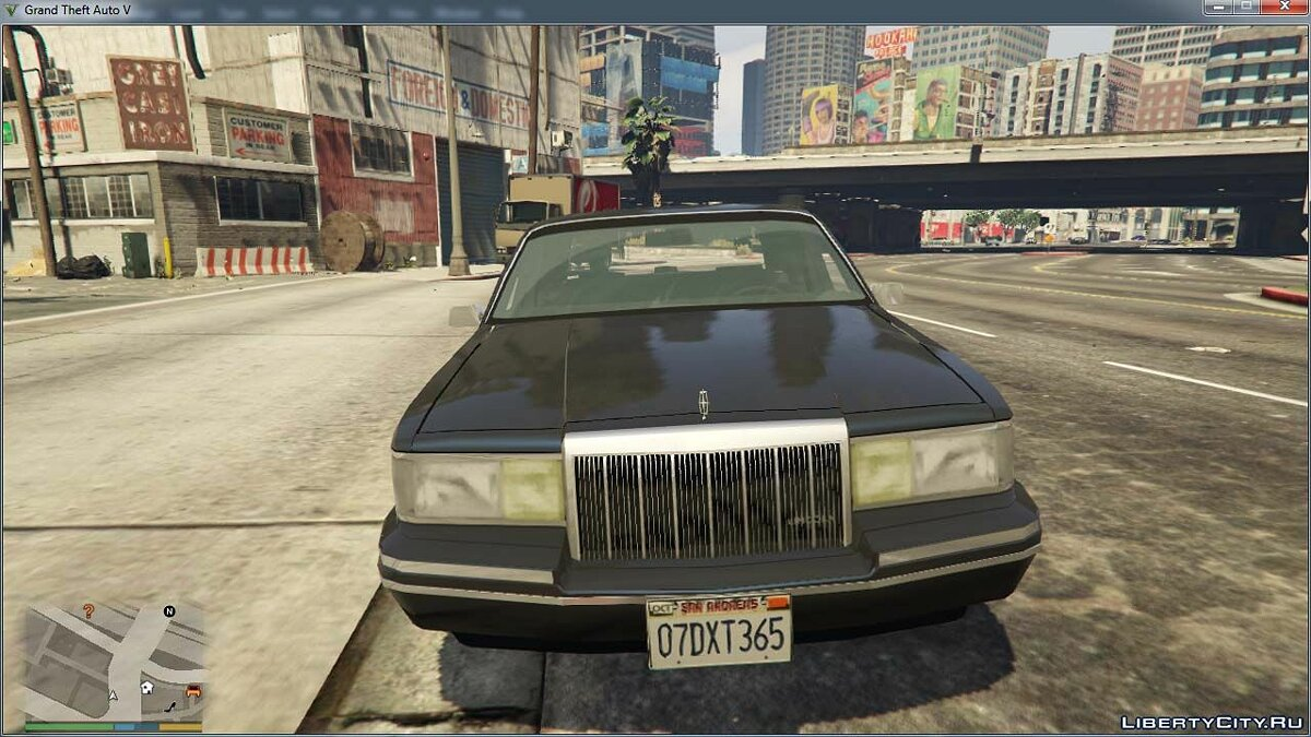 Lincoln car 1991 Lincoln Town Car V1.0 for GTA 5