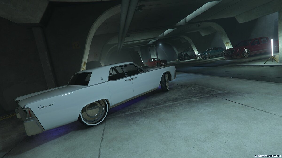 Lincoln car 1962 Lincoln Continental [Add-On | Replace] 1.0 for GTA 5