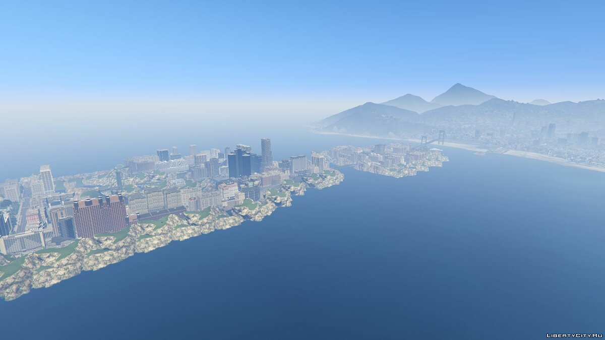 New islands Southern District / Southern District for GTA 5