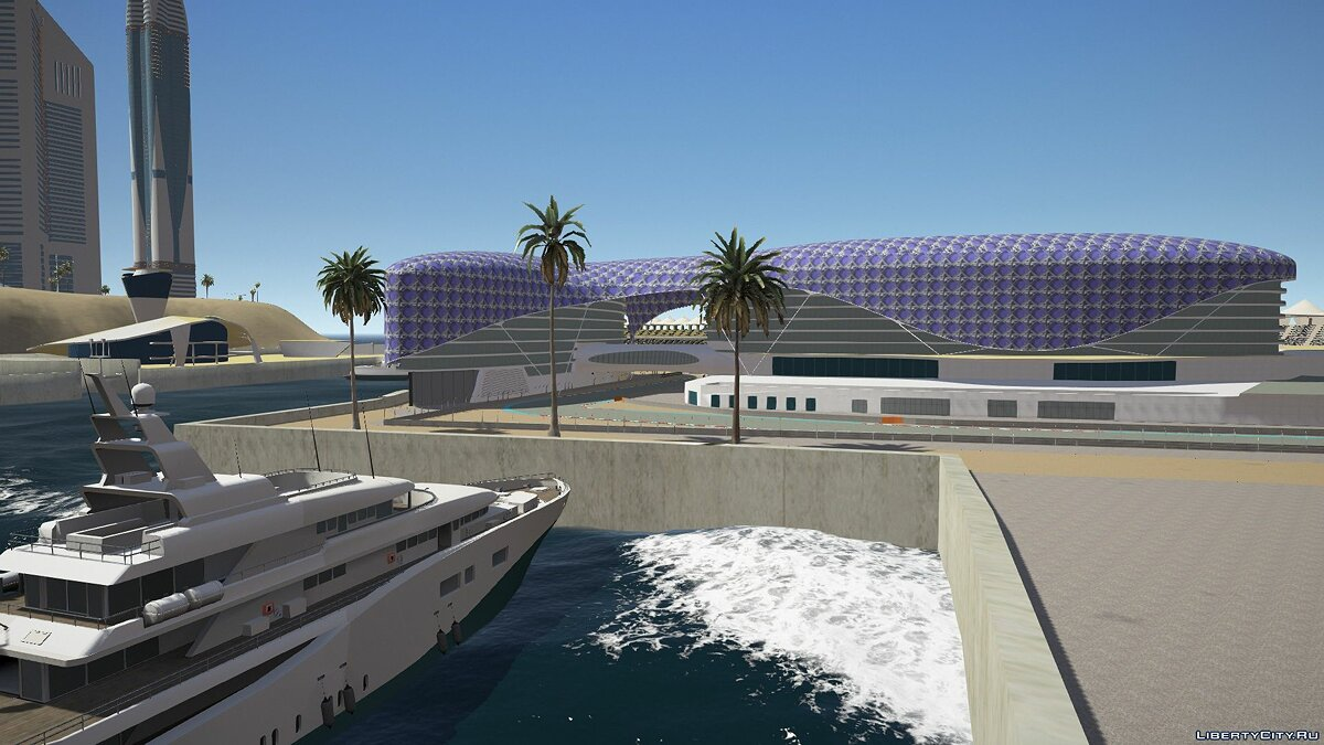 New islands GTA: Dubai Islands - Dubai City for GTA 5